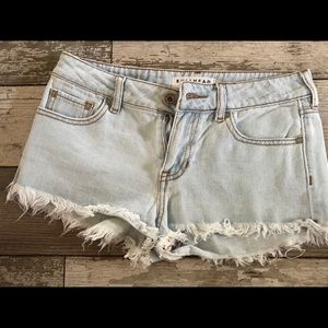 Bullhead denim size 3 jean shorts